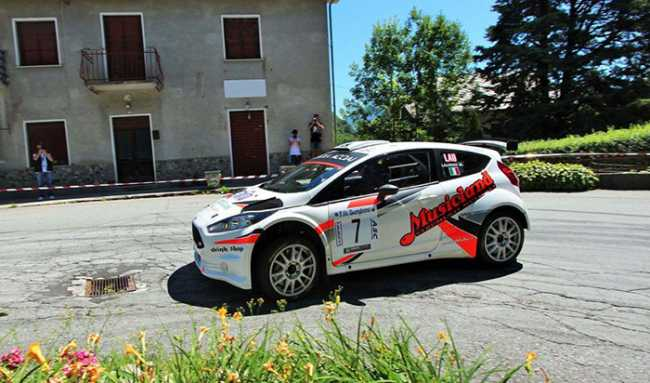 Laurini rally fiesta 2o18