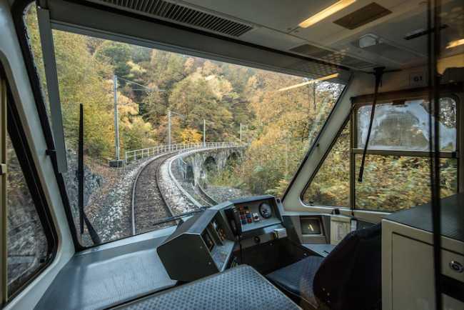 Treno del Foliage Ferrovia Vigezzina Centovalli ph. Giovanni Tagini 6