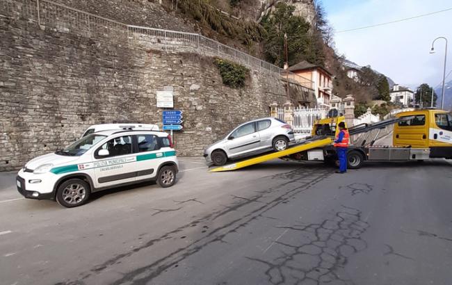 auto rimossa carro attrezzi