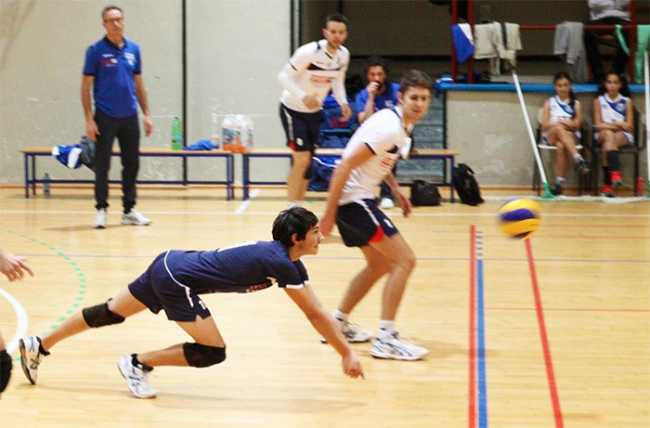 bistrot volley tuffo difesa