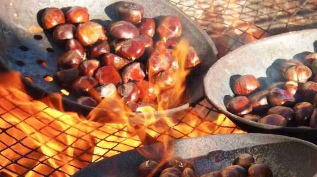 castagne fuoco