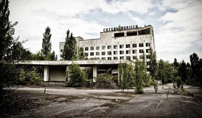 chernobyl albergo