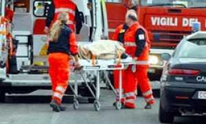 corta Incidente ambulanza