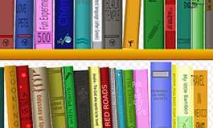 corta mensola libri