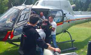 corta motore caffoni elicottero
