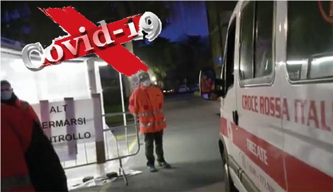 covid ambulanza entrata