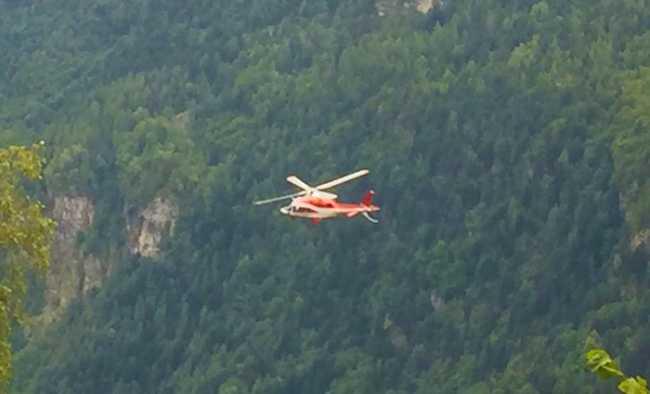 elicottero vigili fuoco divedro