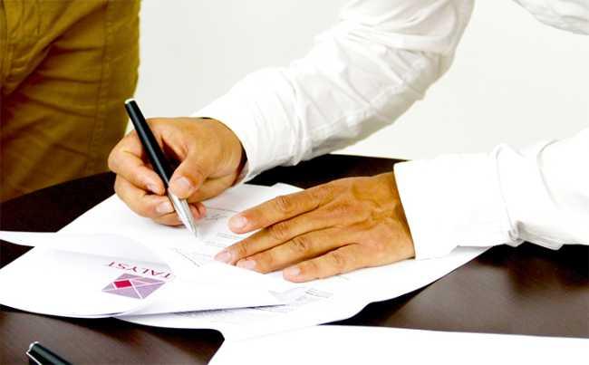 lavoro firma contratto camicia