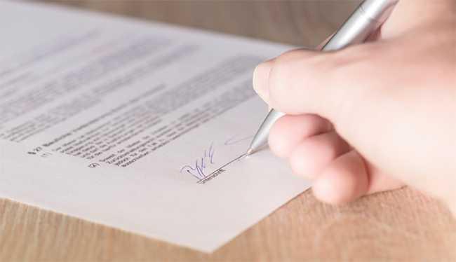 lavoro firma contratto