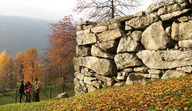 muro diavolo paesaggio