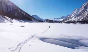 neve solitudine Lago di Codelago Devero