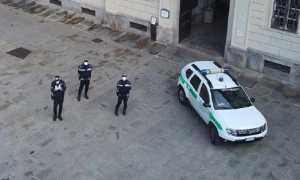 polizia locale domo drone