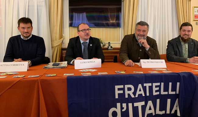 presentazione regionali 2019 domodossola fdi