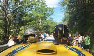 rally valli 17 shakedown caschi
