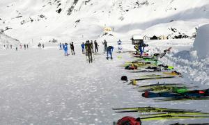 riale formazza sci neve pista