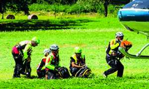 270.soccorso alpino squadra elicottero