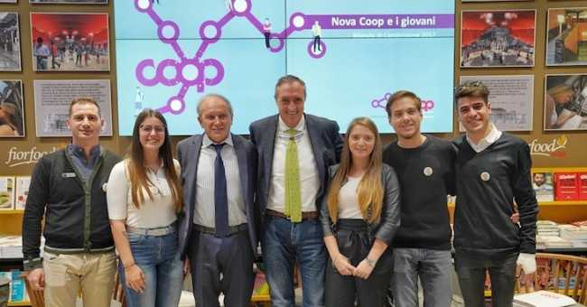 Novacoop e giovani Ambrogio DalleRive