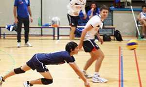 b bistrot volley tuffo difesa