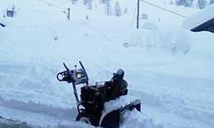 b cheggio neve spazzaneve