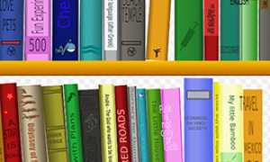 b mensola libri