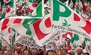 b partito democratico bandiere