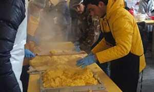 b polenta carnevale versata