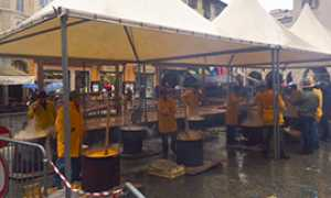 b polenta piazza pioggia