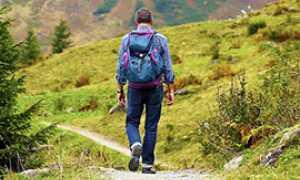 b sentiero escursione montagna