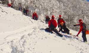b soccorso alpino neve