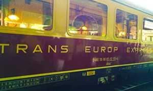 b treno vagone trans europe express