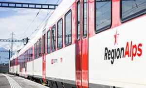 corta Regionalps treno vallese
