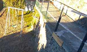 corta VILLA frazione Gaggio nuovo muro 2
