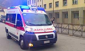 corta ambulanza ospedale