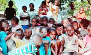 corta bambini africa