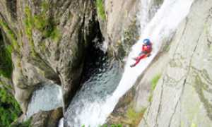 corta canyoning discesa