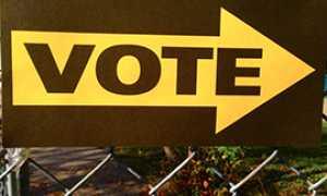 corta cartello voto