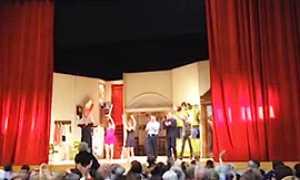 corta fabbrica palco teatro