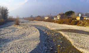 corta fiume secca