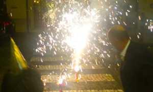 corta fuochi domo striscie artificio