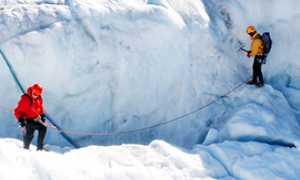 corta ghiacciaio esploratori