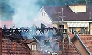 corta incendio tetto casa danni