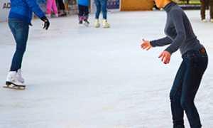 corta pattinaggio ghiaccio