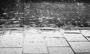 corta pioggia pavimento