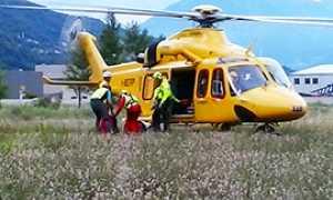 corta soccorso elicottero