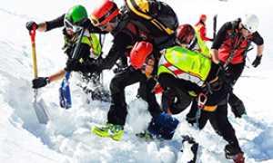 corta soccorso neve valanga