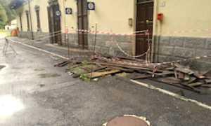 corta stazione iselle degrado tetto
