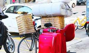 corta trasloco valigie