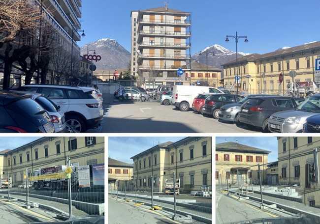 domo piazza stazione posteggi