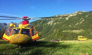 soccorso elicottero cc furgone montagna