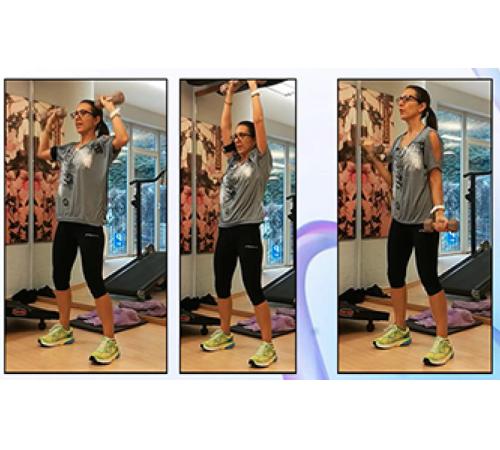 allenamento per la parte superiore del corpo